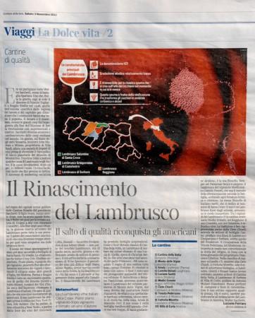 corriere della sera 3 novembre 2012_