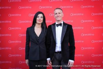 Opera Wine,tappeto rosso